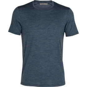 Icebreaker Sphere Top Manga Corta Hombre, serene blue heather